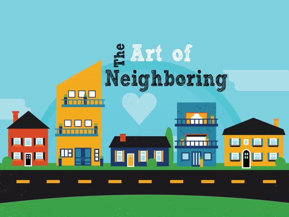 Art of Neighboring Square Logo