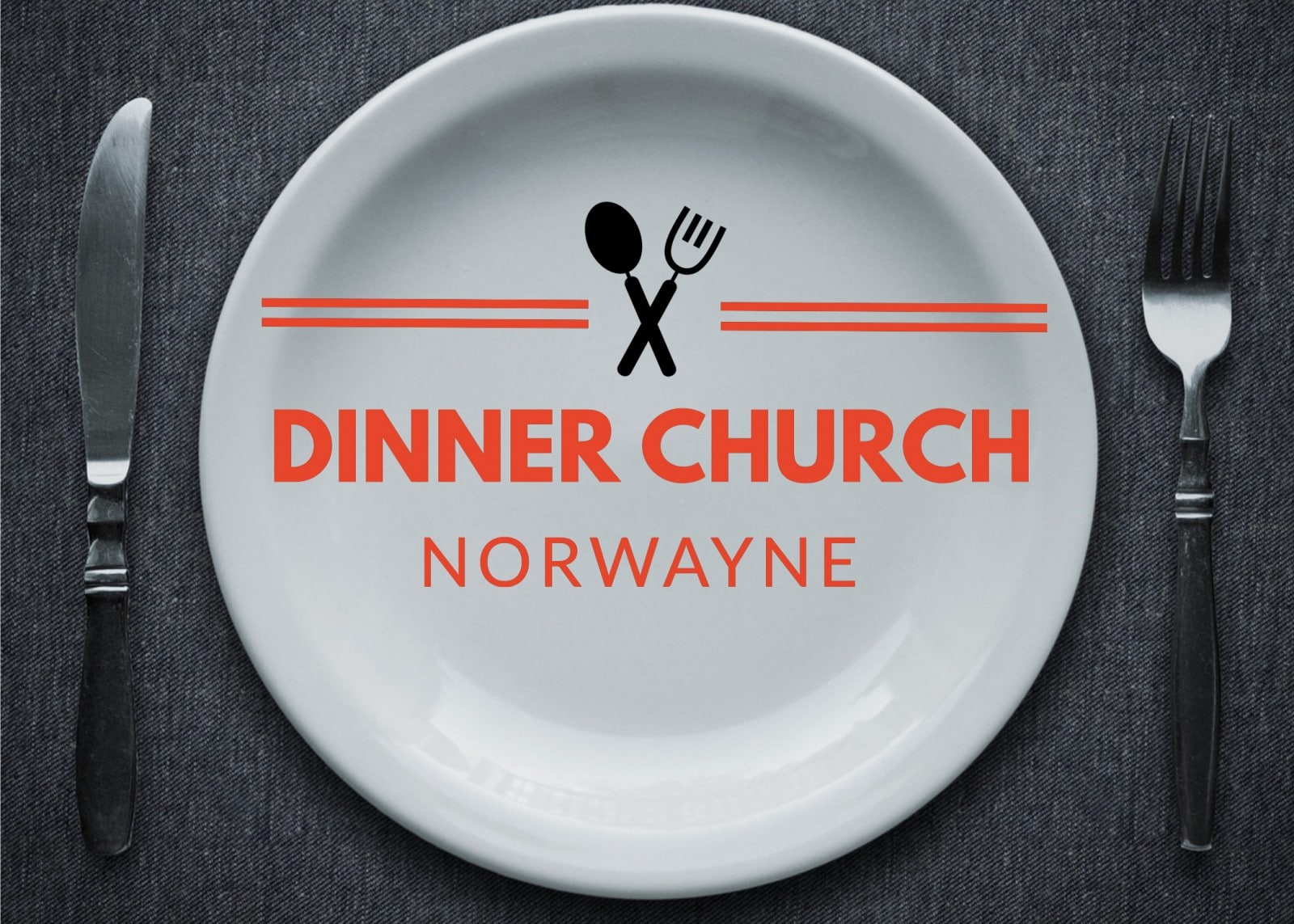 Dinner Church Logo Orange