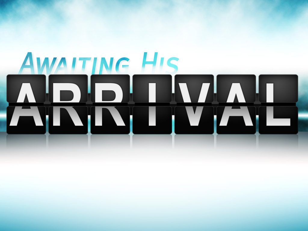Awaiting His Arrival Logo